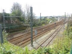 Tumulus de Réuniou - Brest: l'arrivée à la gare de Brest