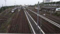 Tumulus de Réuniou - Nederlands: Station foto genomen vanf de loopbrug