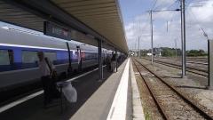 Tumulus de Réuniou - Nederlands: TGV uit Parijs