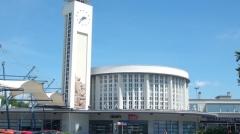 Tumulus de Réuniou - Gare de Brest et sa tour