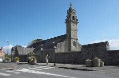 Eglise Saint-Pierre - Deutsch: Kirche Saint-Pierre in Saint-Pol-de-Léon im Département Finistère (Region Bretagne/Frankreich)