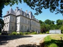 Domaine de Kernévez - Français:   Saint-Pol-de-Léon: le château de Kernévez et sa serre.