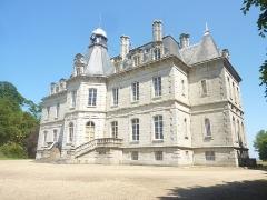 Domaine de Kernévez - Français:   Saint-Pol-de-Léon: le château de Kernévez, vue d\'ensemble.