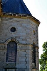 Domaine de Kernévez - Français:   Chapelle du château de Kernevez et son parc à Saint-Pol-de-Léon (Finistère).