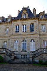 Domaine de Kernévez - Français:   Façade Est du château de Kernevez à Saint-Pol-de-Léon (Finistère).