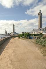 Phares de la pointe de Penmarc'h - English: Lighthouses at Point de Saint Pierre, Finistère, Brittany/France