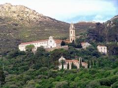 Statue du général Abbatucci - Corbara - Couvent Saint-Dominique et chapelle Santa-Lucia