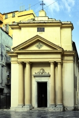 Eglise ou oratoire Saint-Roch -  Bastia, Haute-Corse (France) - L'église Saint-Roch, située rue Napoléon, est classée.