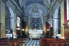 Eglise ou oratoire Saint-Roch -  Bastia, Corse (France) - Intérieur de l'église ou oratoire Saint-Roch classée, rue Napoléon.
