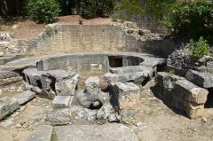 Aqueduc de Nîmes -  Castellum divisorium of Nemausus, Nîmes