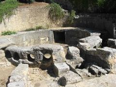 Aqueduc de Nîmes - English: Nîmes - Castellum