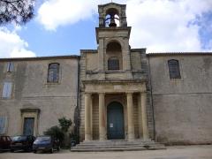 Temple protestant - English: Gallargues-le-Montueux (Gard, Fr) temple.
