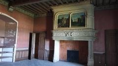 Château - Français:   Salon du château de St-Blancard