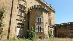 Château - Français:   Château de Saint Blancard