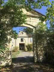 Ancienne tannerie royale - English: Royal Tannery of Lectoure - southern triumphal arched lower vehicular entrance