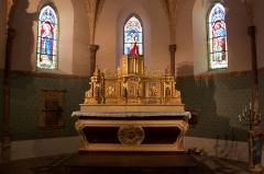 Eglise Saint-Jacques-le-Majeur, située au village -  Église Saint-Jacques-le-Majeur, Tillac, Gers, France