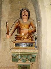 Église de la Nativité de Notre-Dame - Français:   Bassoues (Gers) église paroissiale, buste St.Fris