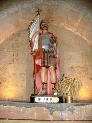 Église de la Nativité de Notre-Dame - Français:   Bassoues (Gers) église paroissiale, statue St.Fris