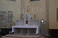 Église de la Nativité de Notre-Dame - Français:   autel latéral dans l\'église de Bassoues