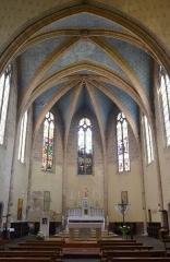 Église de la Nativité de Notre-Dame - Français:   autel de l\'église de Bassoues