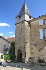Église de la Nativité de Notre-Dame - Français:   clocher de l\'église de Bassoues