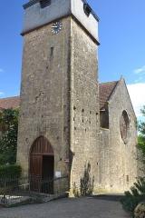 Église de la Nativité de Notre-Dame - Français:   façade de l\'église de Bassoues