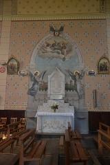 Église de la Nativité de Notre-Dame - Français:   monument aux morts dans l\'église de Bassoues