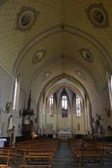 Église de la Nativité de Notre-Dame - Français:   nef de l\'église de Bassoues