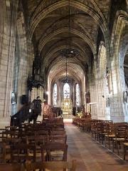 Eglise Saint-Jean - English:   Église Saint-Jean de Libourne, interior with parquet floor.