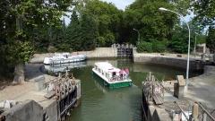 Canal du Midi (écluse ronde) -  Ecluse ronde d'Agde