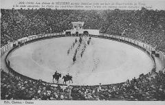 Arènes à taureaux - Nederlands: Een briefkaart van de arena van Béziers