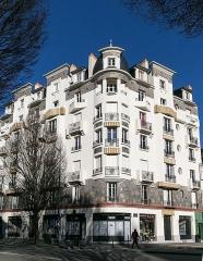 Malouinière de la Rivière, à Paramé - Immeuble, 7 avenue Janvier à Rennes.