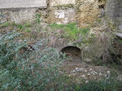 Enceinte fortifiée -  fossés des portes mordelaises