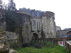 Enceinte fortifiée -  les portes mordelaises