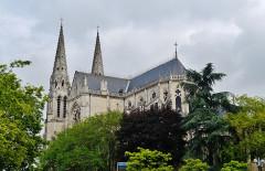 Eglise principale Saint-André - Deutsch: Chor der Kirche St. Andreas, Châteauroux, Département Indre, Region Zentrum-Loiretal, Frankreich