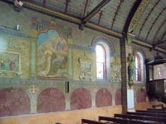 Eglise paroissiale Notre-Dame - Français:   Intérieur de l\'église Notre-Dame de Montbazon