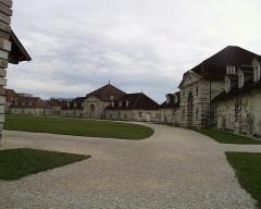 Saumoduc de Salins-les-Bains - Arc-et-Senans - English: Royal Saline in Arc-et-Senans, France