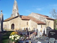 Eglise Saint-Jacques de Sensacq - Français:   Église Saint-Jacques de Sensacq