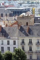 Ancien observatoire de la Marine - Français:   Ancien observatoire de la Marine - Nantes - Depuis la tour du musée Dobrée vue sur l\'ancien observatoire astronomique de la Marine