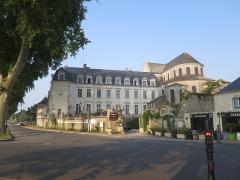 Ancienne abbaye Notre-Dame - Deutsch: Ehemalige Benediktinerabtei (heute: Hotel) und Kirche Notre-Dame in Beaugency