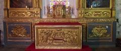 Chapelle Sainte-Anne - Français:   Rocamadour (Occitanie, France). L\'autel de la chapelle Sainte-Anne.