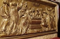 Chapelle Sainte-Anne - Français:   Autel de la chapelle Sainte-Anne de Rocamadour.