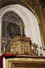 Chapelle Sainte-Anne - Français:   Tabernacle de l\'autel de la chapelle Sainte-Anne de Rocamadour.