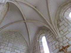 Chapelle Saint-Blaise - Français:   Croisée d\'ogives dans la chapelle Saint-Blaise de Rocamadour (Lot)