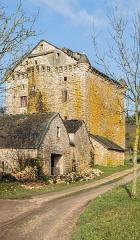 Domaine de Grandlac - English: Domain of Grandlac in commune of Laval-du-Tarn, Lozère, France