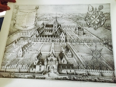 Ancien collège ou ancienne abbaye du Loroux - English: Abbaye du Louroux in her splendor.