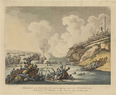 Fortifications des îles Saint-Marcouf - English painter, drawer, etcher and illustrator