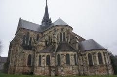 Bâtiment de l'ancien tribunal du bailliage - Abbatiale Saint-Pierre d'Orbais,, images.