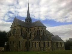 Bâtiment de l'ancien tribunal du bailliage -  Brie Orbais Abbaye Saint-Pierre Paul Chevet 29092012
