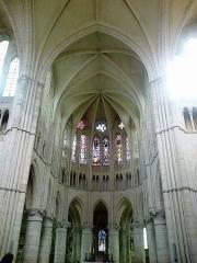 Bâtiment de l'ancien tribunal du bailliage -  Brie Orbais Abbaye Saint-Pierre Paul Choeur